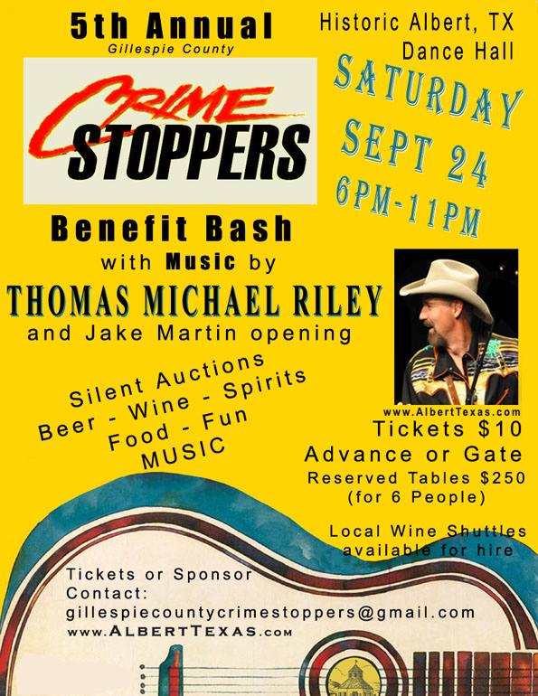 5th Annual Crime Stoppers Benefit