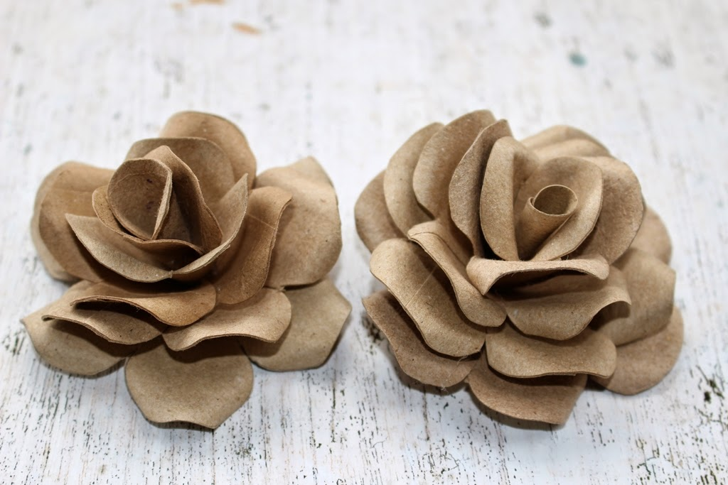 DIY: How To Make Roses Using Empty Toilet Tissue Tubes | Reduce ...