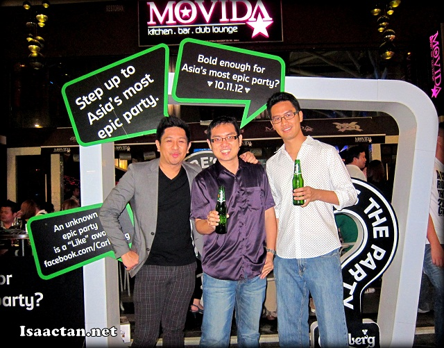 "Carlsberg ""Where's The Party"" Preview @ Movida Sunway Giza"