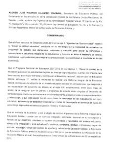 NUEVO ACUERDO QUE DEROGA EL ACUERDO 200 PARA LA EVALUACIÓN