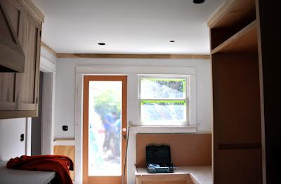 craftsman kitchen ceiling moulding