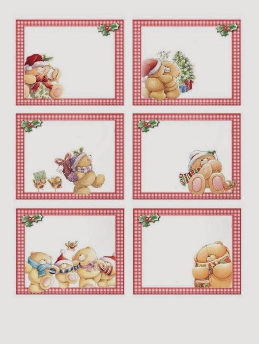 Ositos para navidad para imprimir gratis ideas y - Imagenes para imprimir de navidad gratis ...