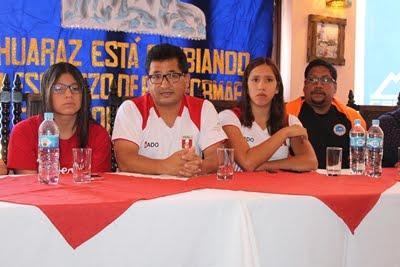 EN HUARAZ LAS CAMPEONAS INTERNACIONALES DE NATACIÓN