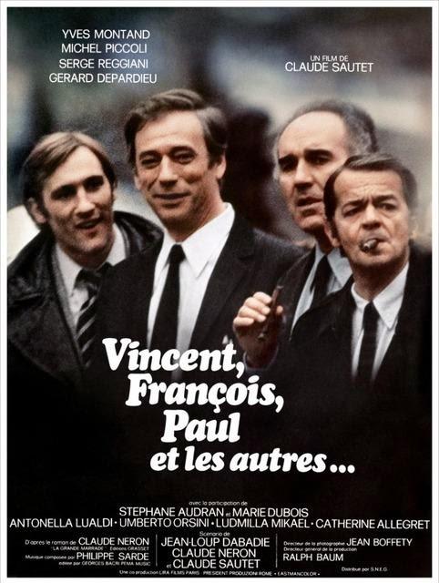 Chroniques du Cinéphile Stakhanoviste: Vincent, François, Paul... et les  autres - Claude Sautet (1974)
