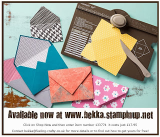 Get the Amazing Stampin' Up! Envelope Punch Board at www.bekka.stampinup.net  It is great for way more than envelopes!