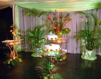 como decorar festa havaiana