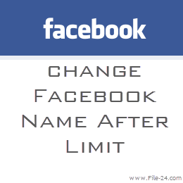 How to Change Facebook Name After Limit Reached-2013