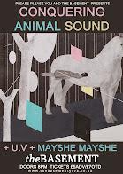 Conquering Animal Sound, U.V. + Mayshe Mayshe