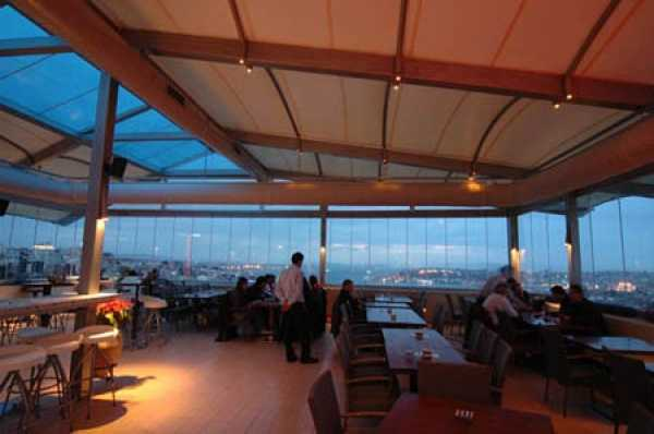 Litera Teras Bar Restaurant Bar Club Restoran
