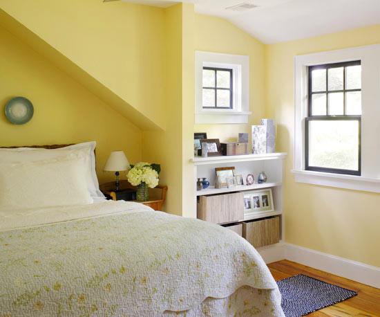 Dormitorios color amarillo dormitorios con estilo for Decoracion dormitorio blanco