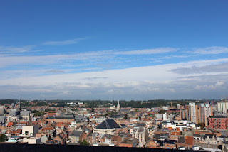 Clothes & Dreams: Leuven loving: overview of the city from the tower of the Central Library