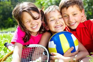Esporte educação com aprendizado de fundamentos