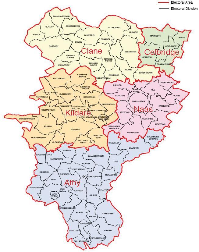 Kildare Map Region City Map Of Ireland City Regional Political