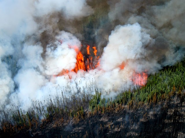 ODF fights fire in Alaska