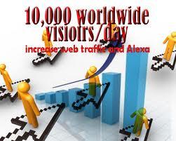 more visitor cara meningkatkan traffic/visitor blog