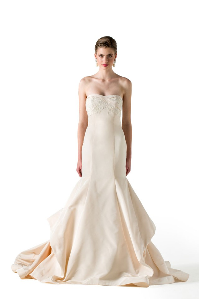 Hermosos vestidos de novias | Colección Anne Barge 2016