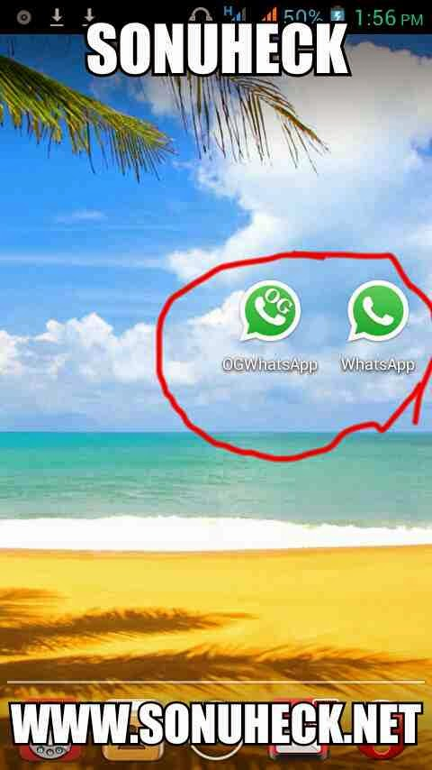 How to use 2 two multiple whatsapp account in a single android device. Ogwhatsapp trick