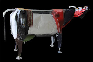 Larger-than-Life cow sculptures by P Gnana