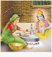 Vitthal Felt Very Tired Seeing That Position Jana Made Him Sleep In Her House In The Morning When He Woke Up He Walked Back To The Temple With The