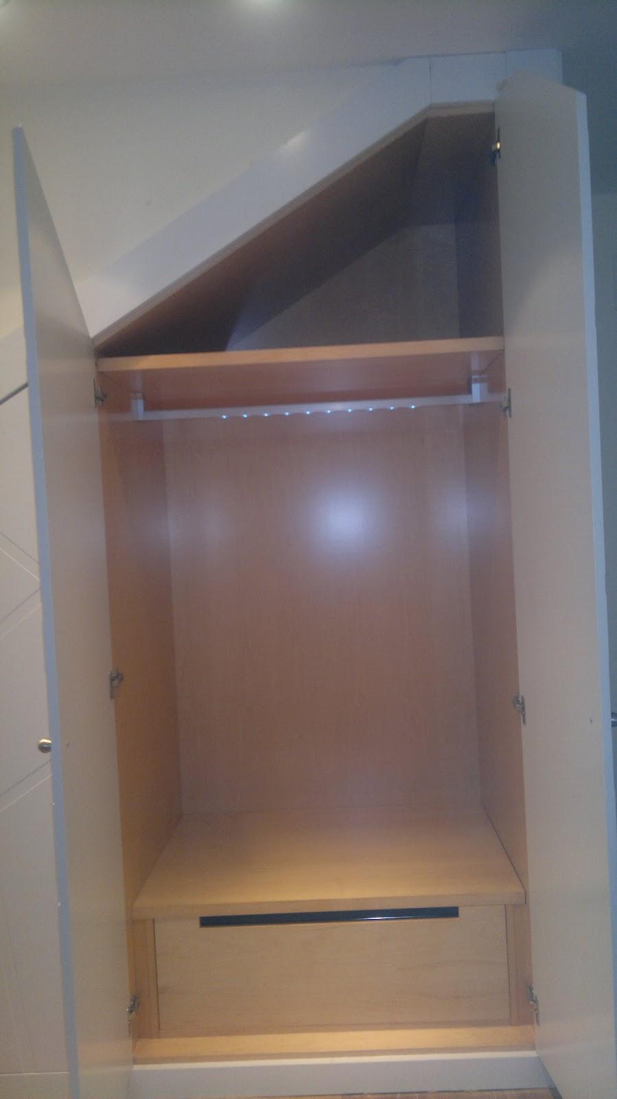 Ebanisteria carpinteria manuel perez zaragoza armario for Armario escalera