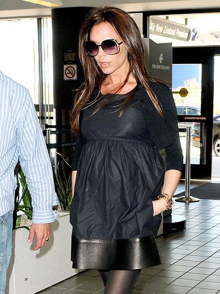victoria beckham embarazada. Victoria Beckham, embarazada