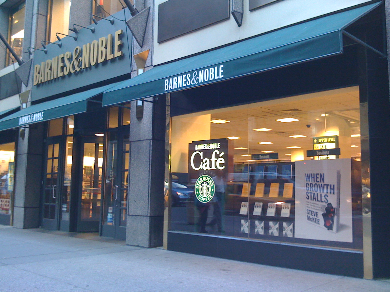 Barnes and noble times square