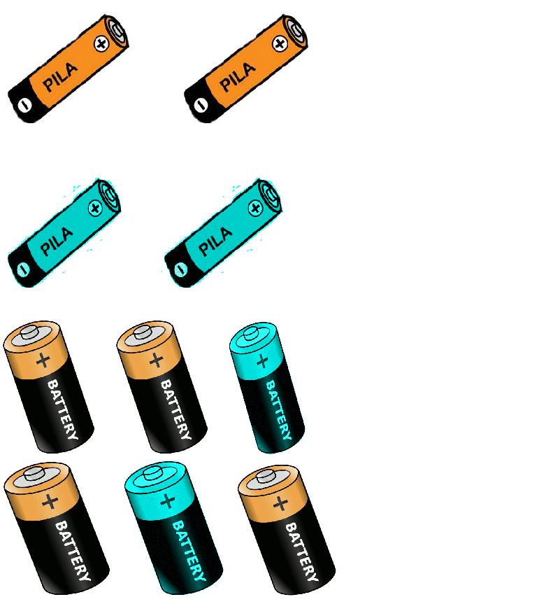 Diy contenedor para pilas diydetodounpoco for Tamanos de pilas