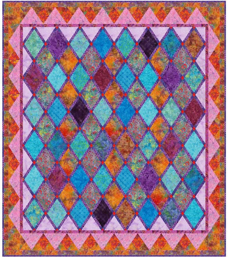 Free pattern! Potpourri quilt