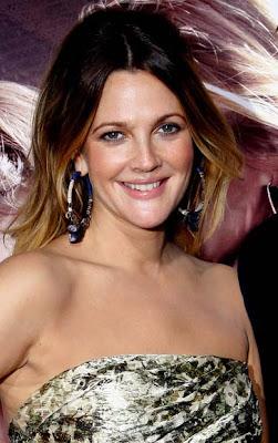Drew Barrymore Gemstone Hoop Earrings