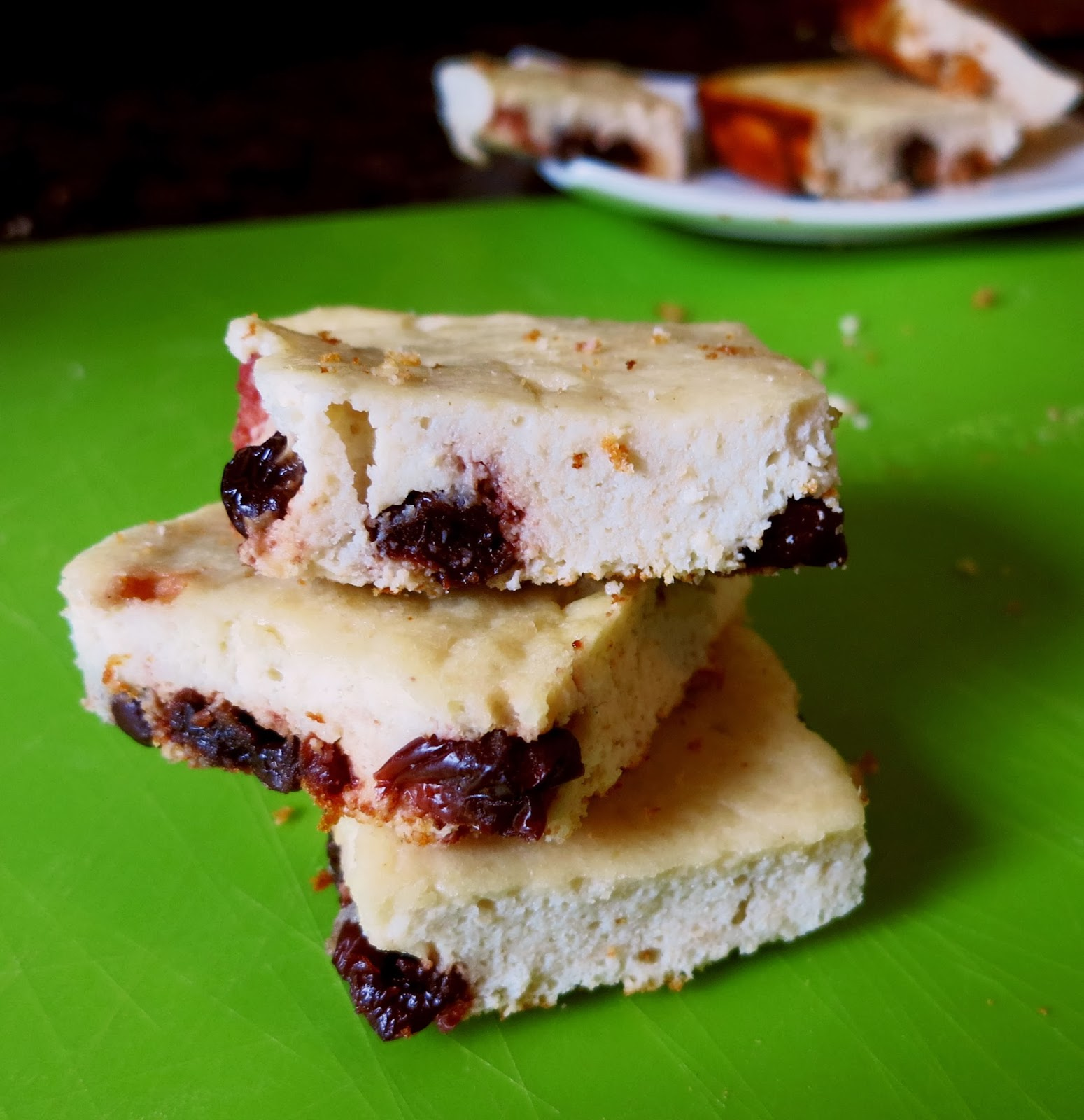 Cherry Vanilla Cheesecake Protein Bars