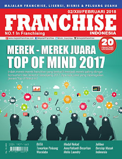 Get It Now!! Majalah Franchise Indonesia Edisi FEBRUARI 2018