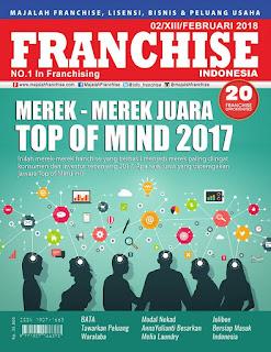 Get It Now!! Majalah Franchise Indonesia Edisi FEBRUARI 2018