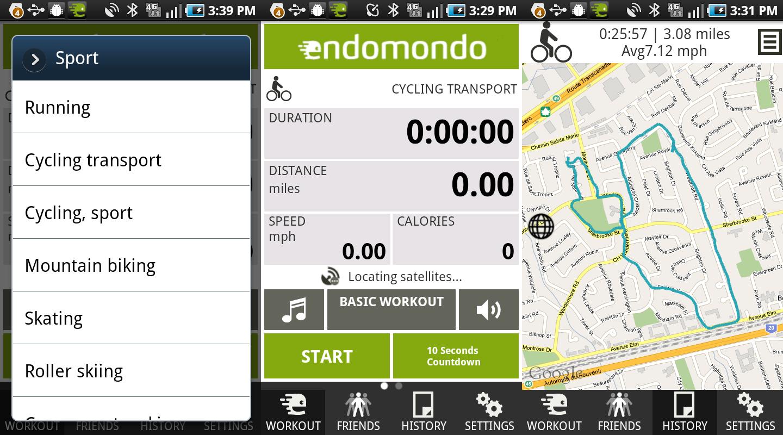 Endomondo, una aplicación muy completa para salir a correr