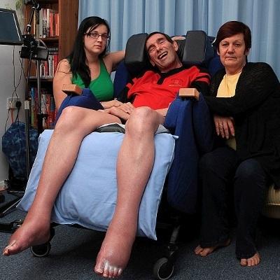 Familiebillede af Tony Nicklinson