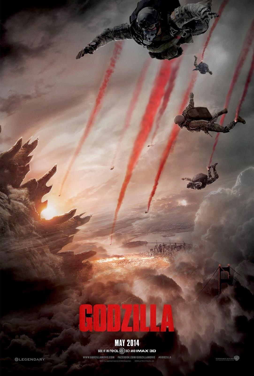 Afiche de Godzilla