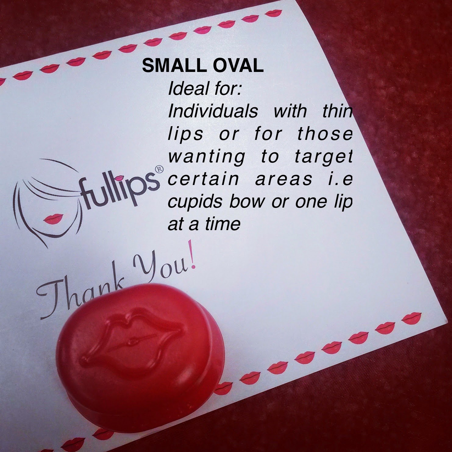 small oval fullips review UK