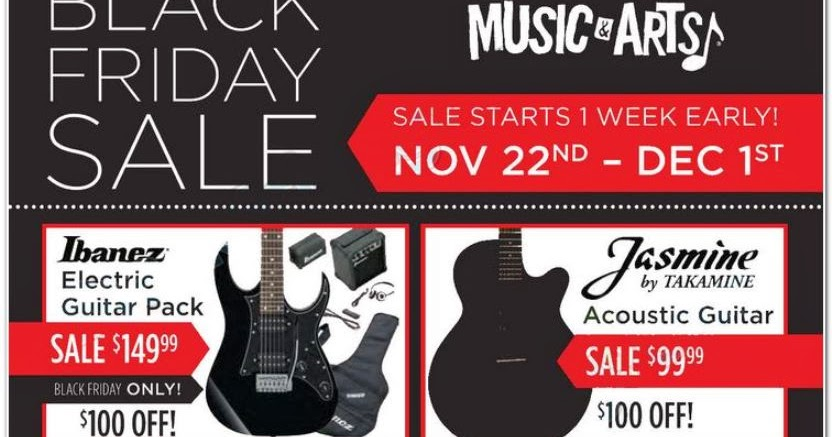 Music Arts Black Friday Ad 2013 Black Friday Ads 2013
