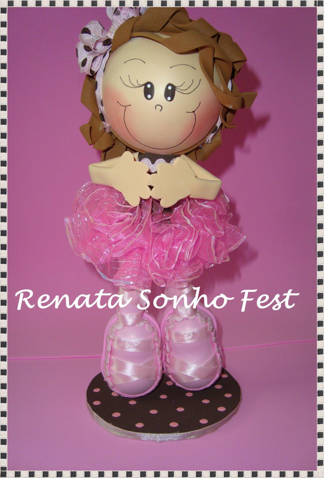 Renata Sonho Fest: Festa Bailarina 1 ,enfeites de mesa , lembrancinhas