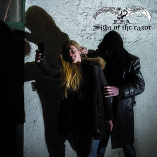 "FALLEN FUCKING ANGELS - ""SIGN OF THE RAZOR"""