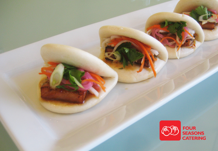 Four Seasons Catering: Proudly introducing... our new Pork Belly Bun!