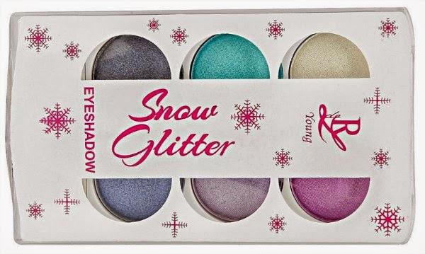 Rival de Loop Young Snow Glitter LE Eyeshadow Palette