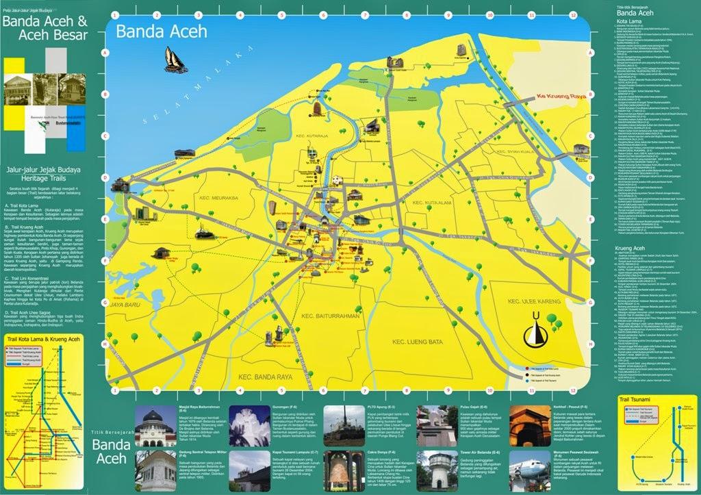 Peta Wisata Banda aceh