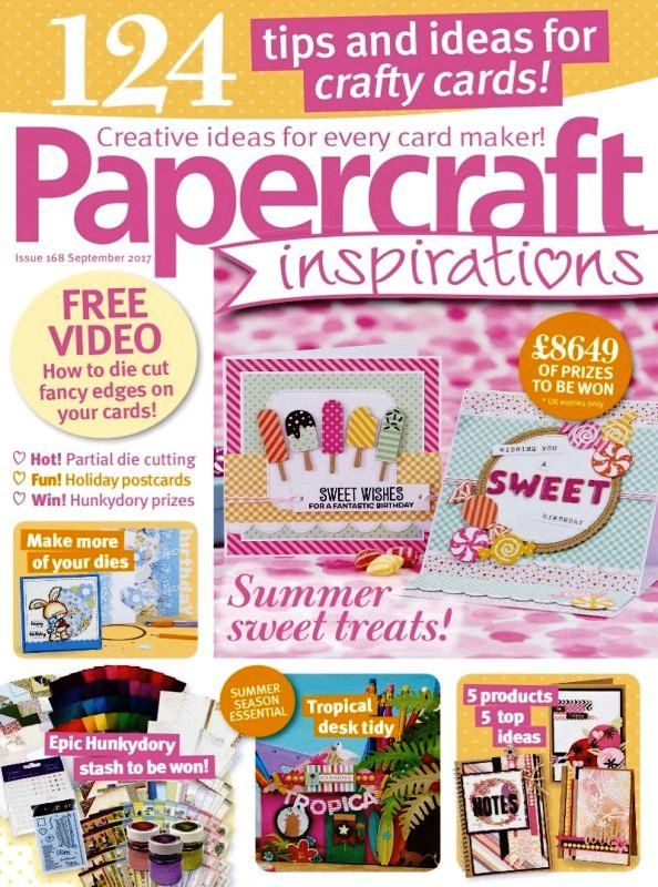 Published in Papercraft Inspirations Issue 166