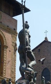 Bolonia, Fontana del Nettuno.