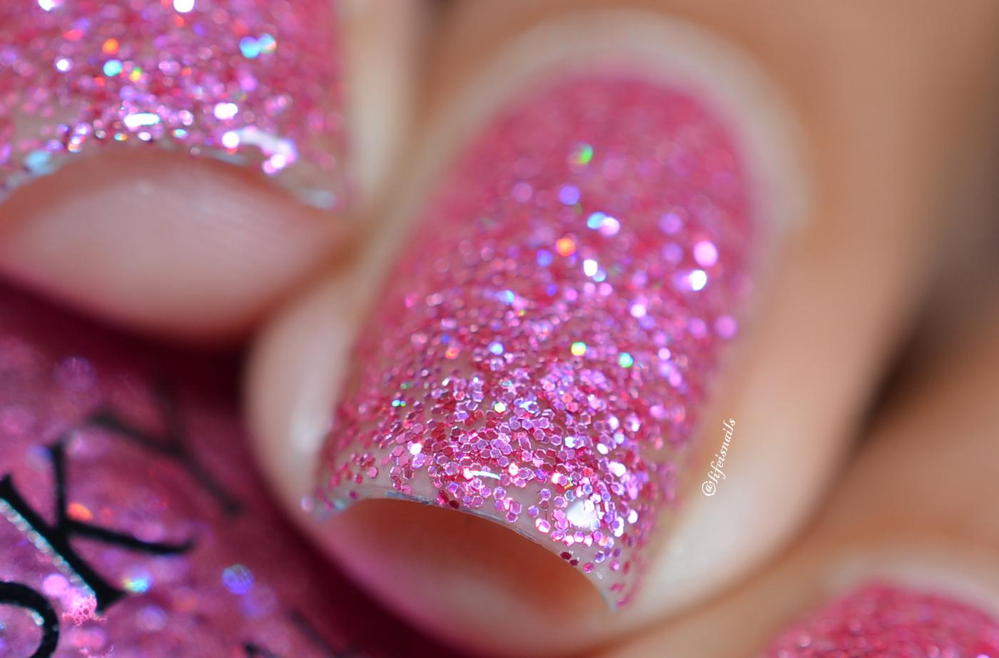 Kiara Sky Pink Nail Polish - Creative Touch