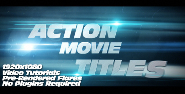 VideoHive Action Movie Titles