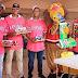 Los Leones del Escogido visitan la Casa Rosada