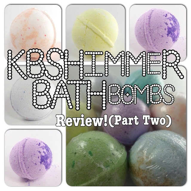 Review - KBShimmer Bath Bombs - Part Two