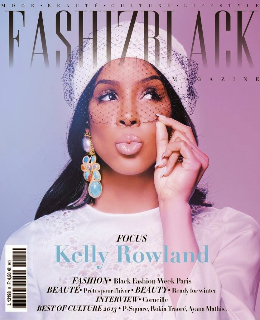 Magazine Love: Kelly  Rowland Covers FASHIZBLACK Magazine