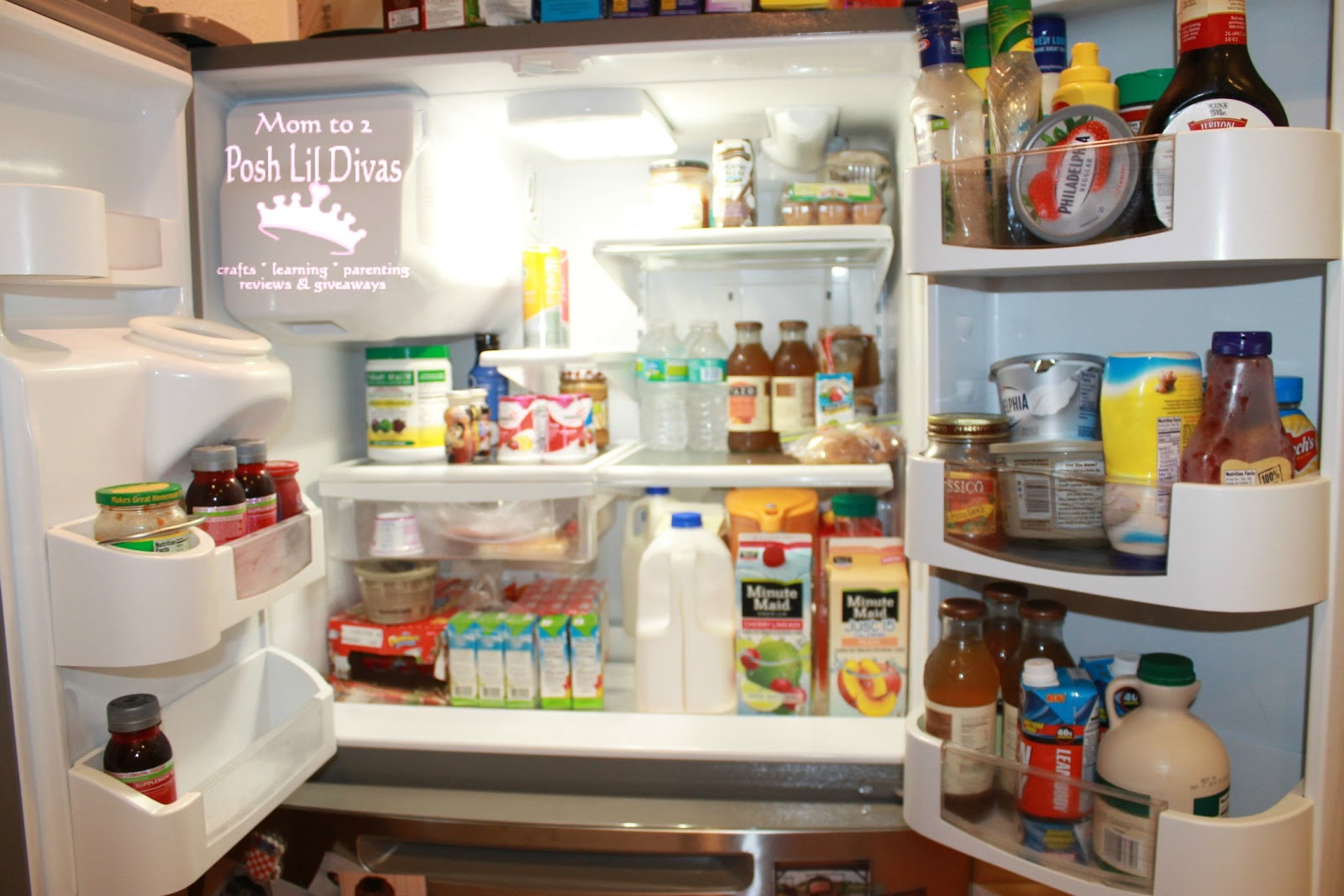 Maytag french door refrigerator reviews - Seriously Look At All Those Shelves And They Are Adjustable Too Swoon There S Even A Wine Bottle Holder Though Currently I See I Have Some Salsa In